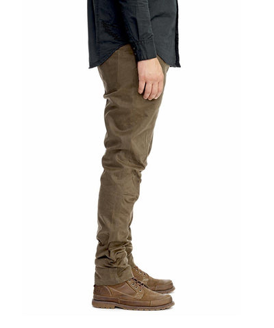 Adventure Waxed Drill Pant - Olive