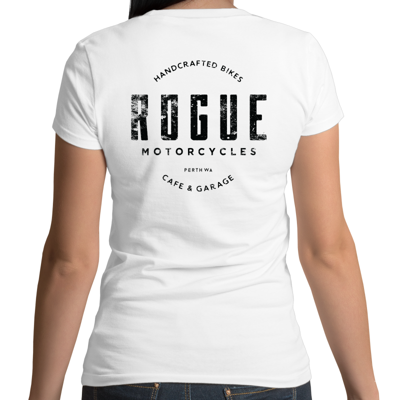 Rogue - Womens Fairtrade Organic Crew Tee