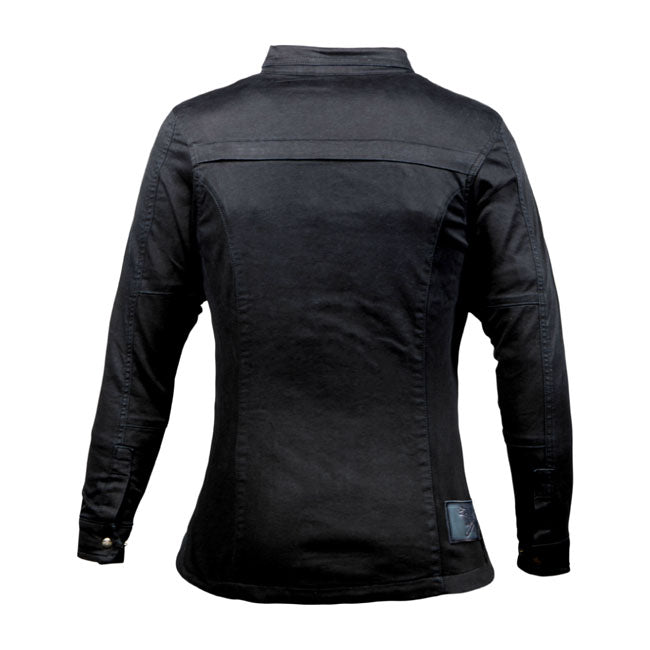 JOHN DOE MOTOSHIRT WOMEN | BLACK