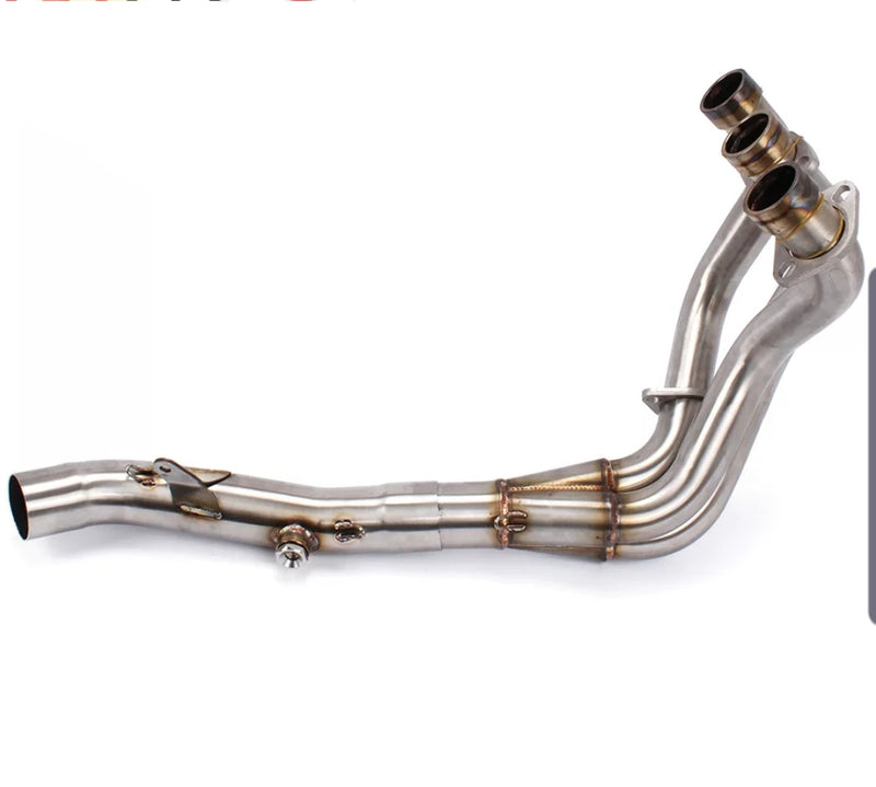 MT-09 stainless exhaust headers