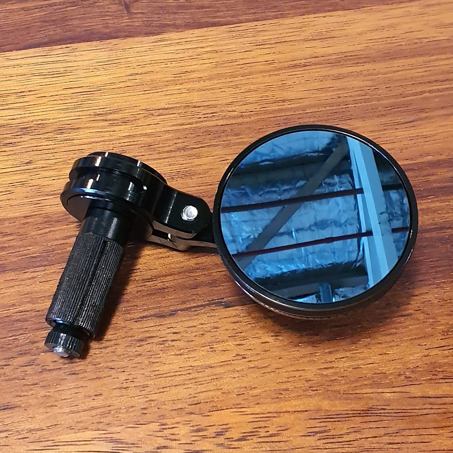Rogue motorcycles, Rogue motorcycles wa perth western australia, custom, small cnc mirror bar end black 22mm 7/8 1""