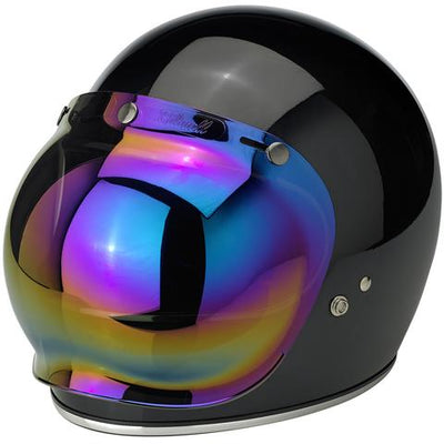BILTWELL GRINGO ANTI-FOG BUBBLE VISOR | RAINBOW