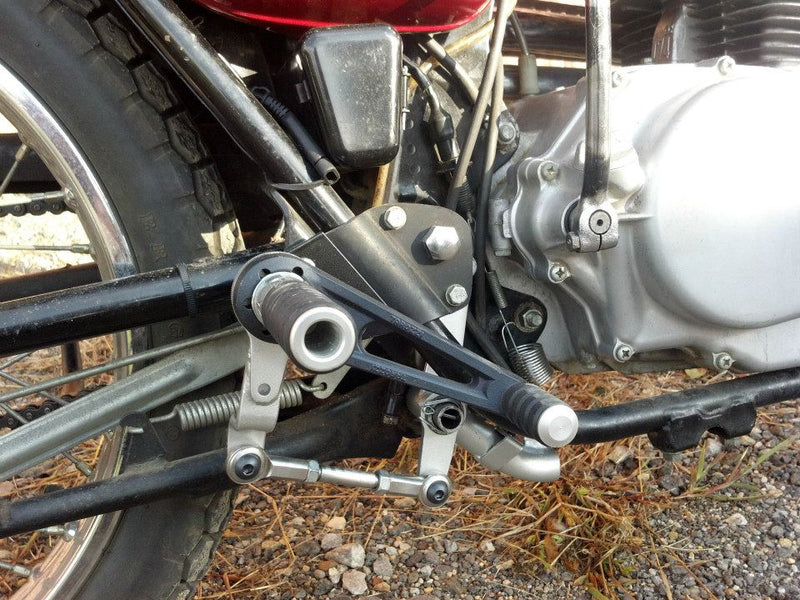 tarozzi rear set rogue motorcycles perth australia cafe racer custom pegs
