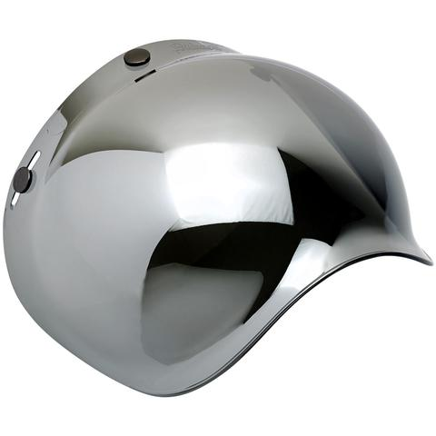 BILTWELL GRINGO ANTI-FOG BUBBLE VISOR | CHROME MIRROR