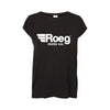 Roeg, black ladies shirt, Rogue Motorcycle, Perth WA, Australia, Biker apparel, motorbike shirt, motolife shirt, biker shirt, bike t shirt, motorcycle gear, motorcycle apparel, apparel store, online motorbike retail store.
