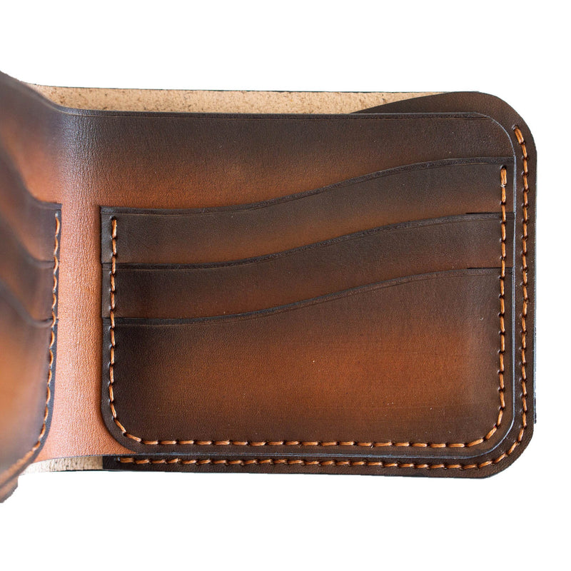 Ryder Hand Stitched Wallet Vegtan Leather for Men