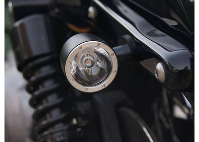 moose led turnstop taillight indicator combination aluminium LED CREE rogue motorcycles custom bike build perth australia