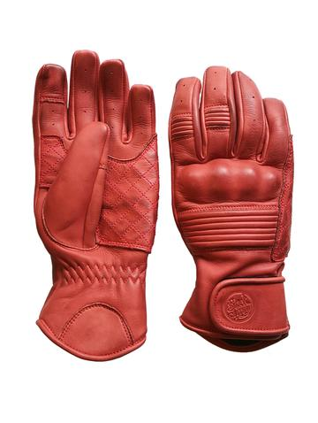 QUEEN BEE MOTORCYCLE GLOVES - RUST