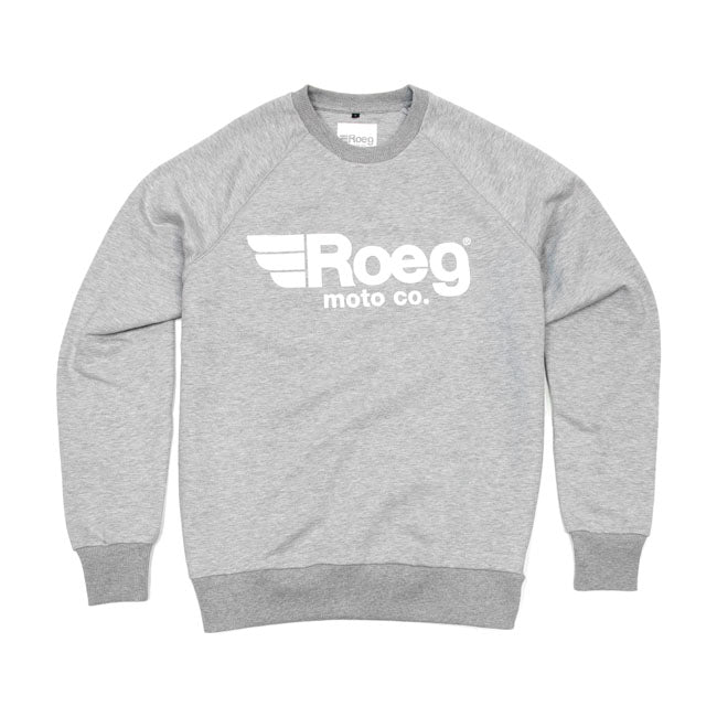 ROEG |  MENS SHAWN SWEAT SHIRT | GREY MARLE