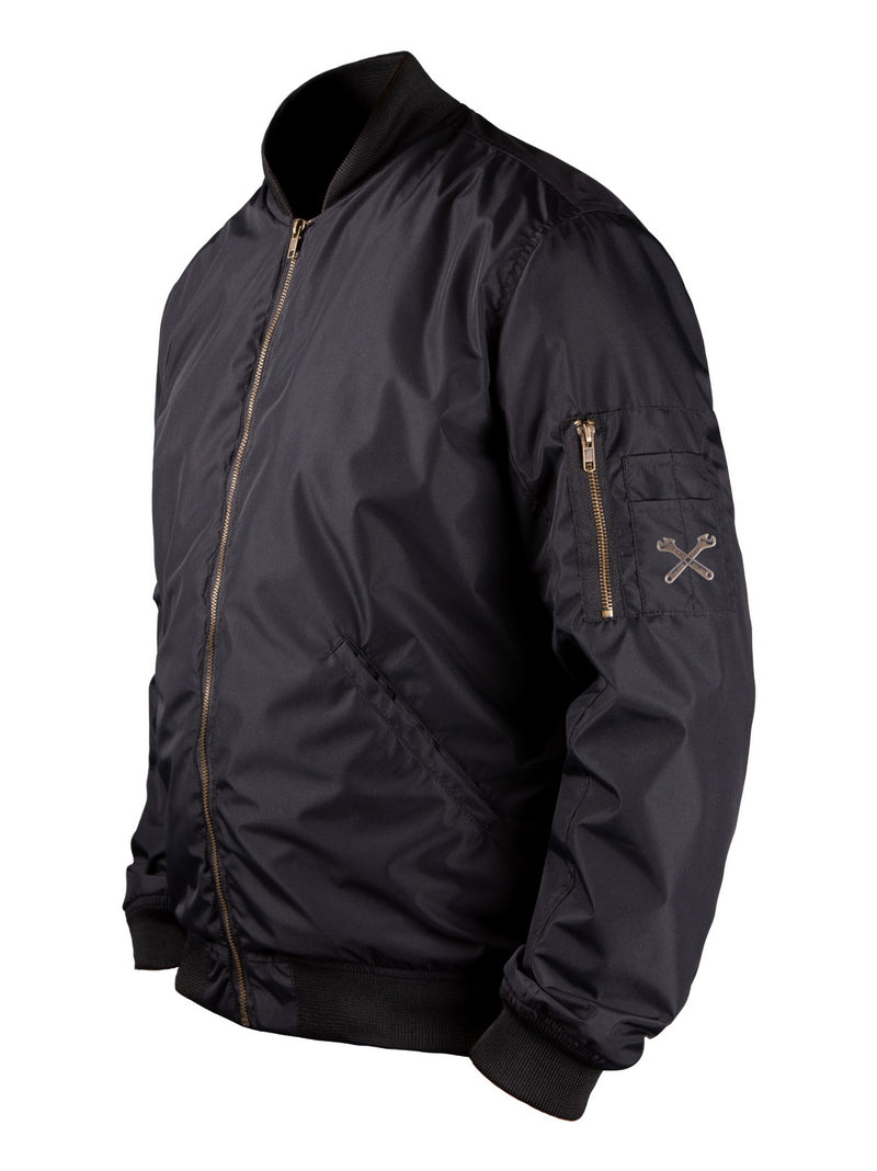 JOHN DOE FLIGHT JACKET | BLACK