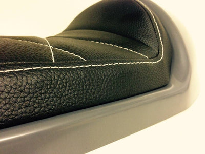 Classic Cafe Racer Seat by C.Racer | Black Upholstery