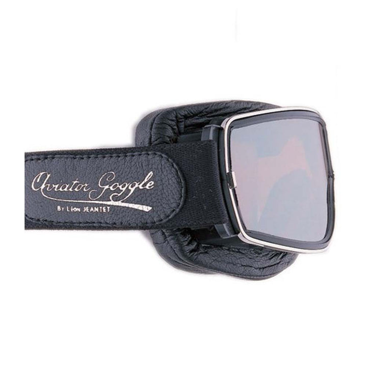 Aviator Pilot T2 Goggles by Leon Jeantet - Black