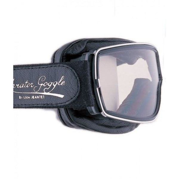Aviator Pilot T3 Goggles by Leon Jeantet - Black
