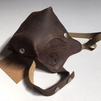 Cafe Racer Face Mask - Brown