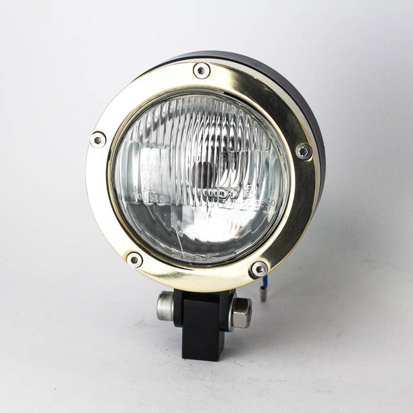 Rogue Motorcycles Nautic Solid Brass Headlight 4 1/2