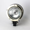 "Rogue Motorcycles Nautic Solid Brass Headlight 4 1/2"" bobber chopper stainless steel custom bike build motorbike"