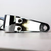 Rogue Motorcycles Magnum side mount headlight brackets 39 35 41 mm universal chrome polished aluminium stainless steel