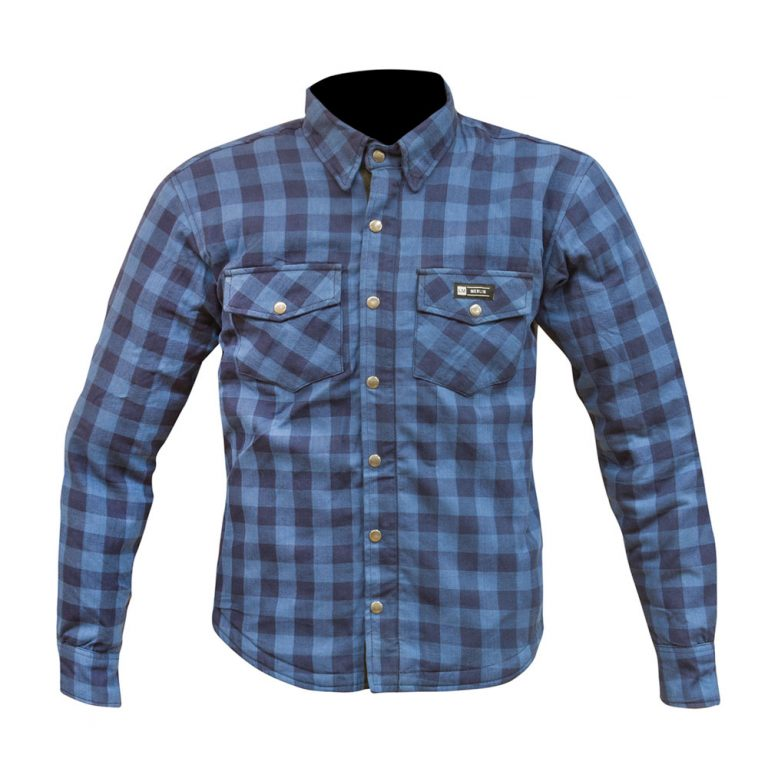 Axe Flannel - Dark Blue