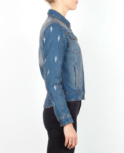 Nowhere Bound Motorcycle Jacket | Denim