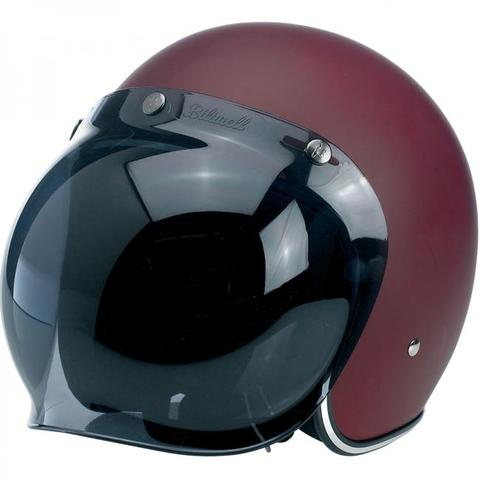BILTWELL GRINGO ANTI-FOG BUBBLE SHIELD | SMOKE