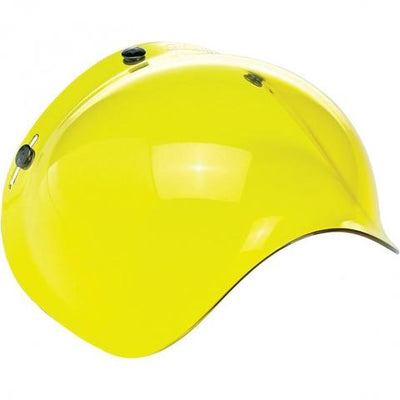 BILTWELL GRINGO ANTI-FOG BUBBLE SHIELD | YELLOW