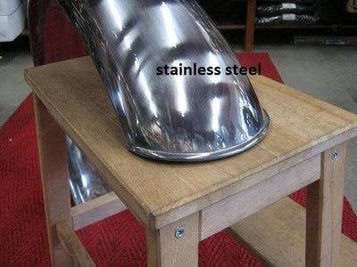 18/19 INCH STAINLESS STEEL FENDER 140MM