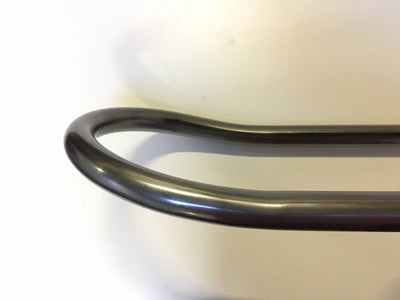 25mm CAFE RACER LOOP O.D. 205mm extra long UPSWEPT (15 DEGREES)