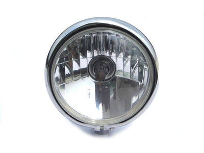 "5 .75 ""CHOPPER HEADLIGHT CHROME UNIVERSAL"