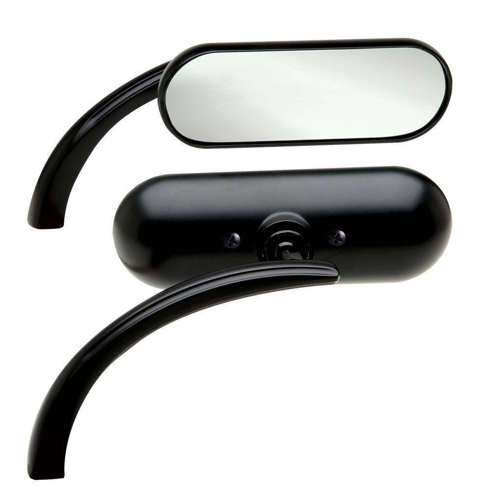 MINI OVAL BLACK MIRROR