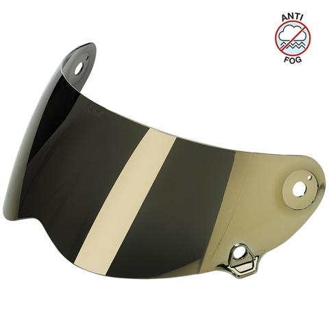 BILTWELL LANE SPLITTER ANTI FOG VISOR MIRROR GOLD