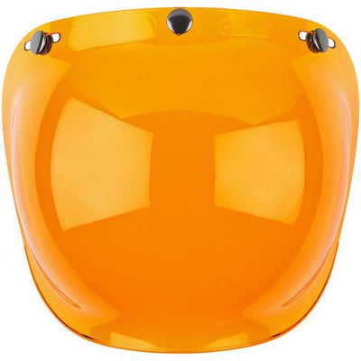 BILTWELL GRINGO ANTI-FOG BUBBLE SHIELD | ORANGE