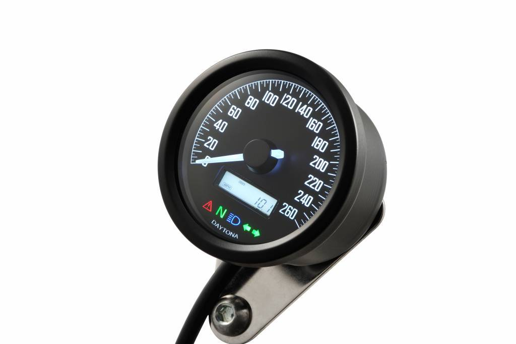 rogue motorcycles speedo speed sensor custom bike cafe racer daytona velona motogadget