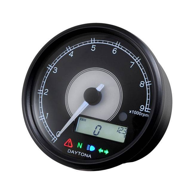 DAYTONA VELONA 80MM SPEEDO/TACHOMETER 9000 RPM