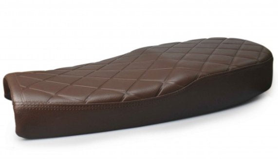 DIAMOND FLAT BRAT SEAT VINTAGE BROWN 3