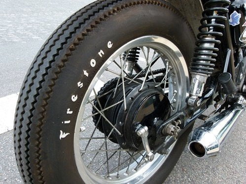 Rogue motorcycles, Firestone CHAMPION DELUXE, classic, Perth, Western Australia