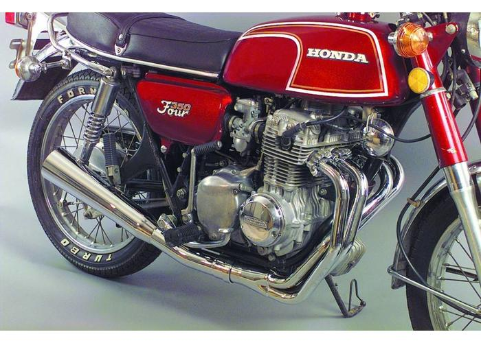 MAC EXHAUSTS HONDA CB 350 4-IN-1 EXHAUST MEGAPHONE