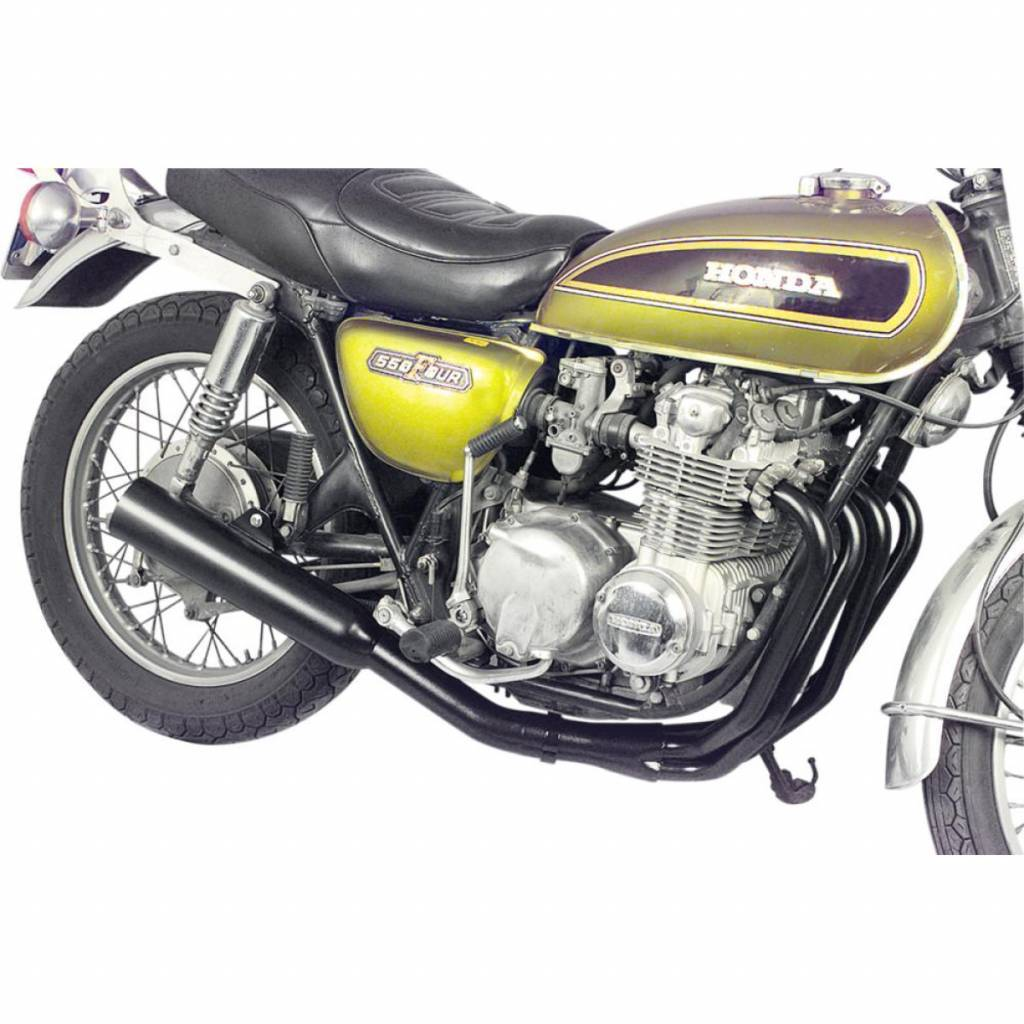 MAC EXHAUSTS HONDA CB 500/550 (72-78) 4-IN-1 EXHAUST SYSTEM BLACK
