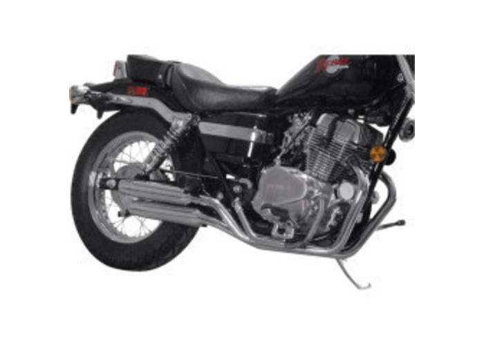 MAC EXHAUSTS HONDA VT 700/800 EXHAUST SYSTEM STAGGERED SLASH CUT