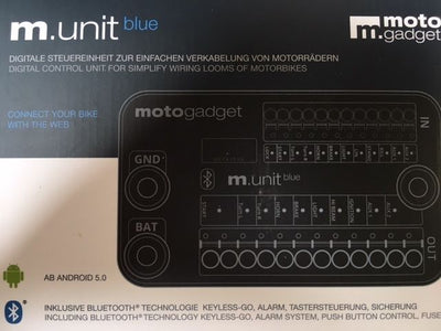 MOTOGADGET M-UNIT BLUE - SMARTPHONE