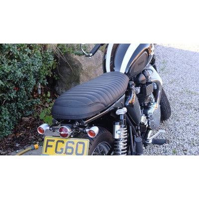 MOTONE BONNEVILLE SKINNY SEAT - THE KRAIT - BLACK