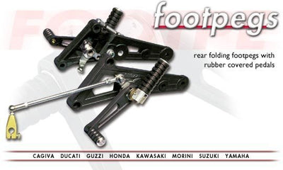 TAROZZI MODEL SPECIFIC REARSET (FOLDABLE) BLACK