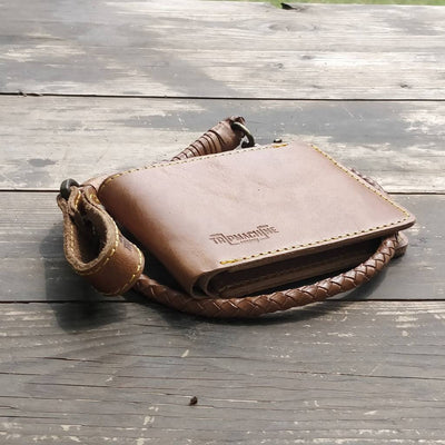TRIP MACHINE WALLET TAN TRIGGER