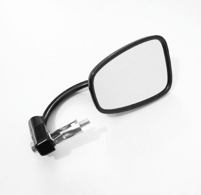 OLDSKOOL BLACK BAR END CAFE RACER MIRROR