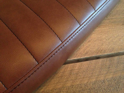 TUCK 'N ROLL BRAT SEAT VINTAGE BROWN WIDE 71