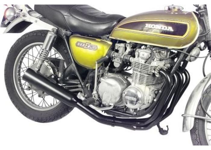 MAC EXHAUSTS HONDA CB 650 4-INTO-1 EXHAUST BLACK