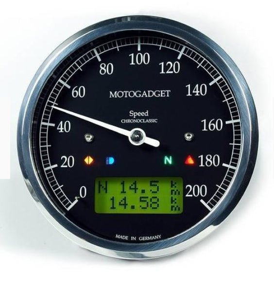 MOTOGADGET CHRONOCLASSIC SPEEDO POLISHED