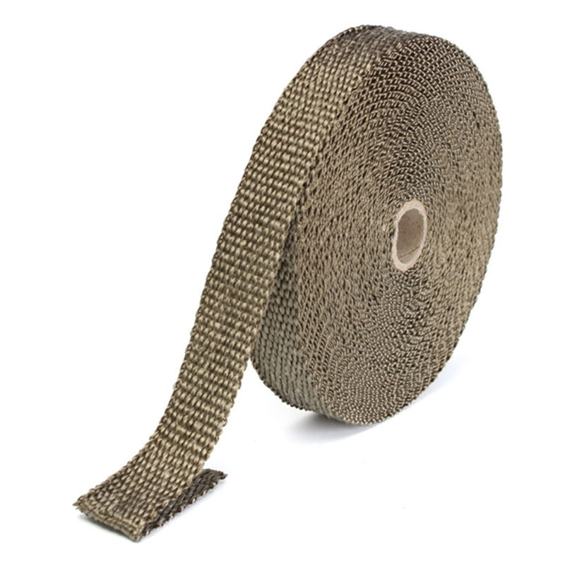 High Performance Titanium Exhaust Wrapping Tape 15M x 25mm