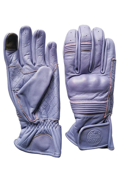 QUEEN BEE MOTORCYCLE GLOVES - LILAC