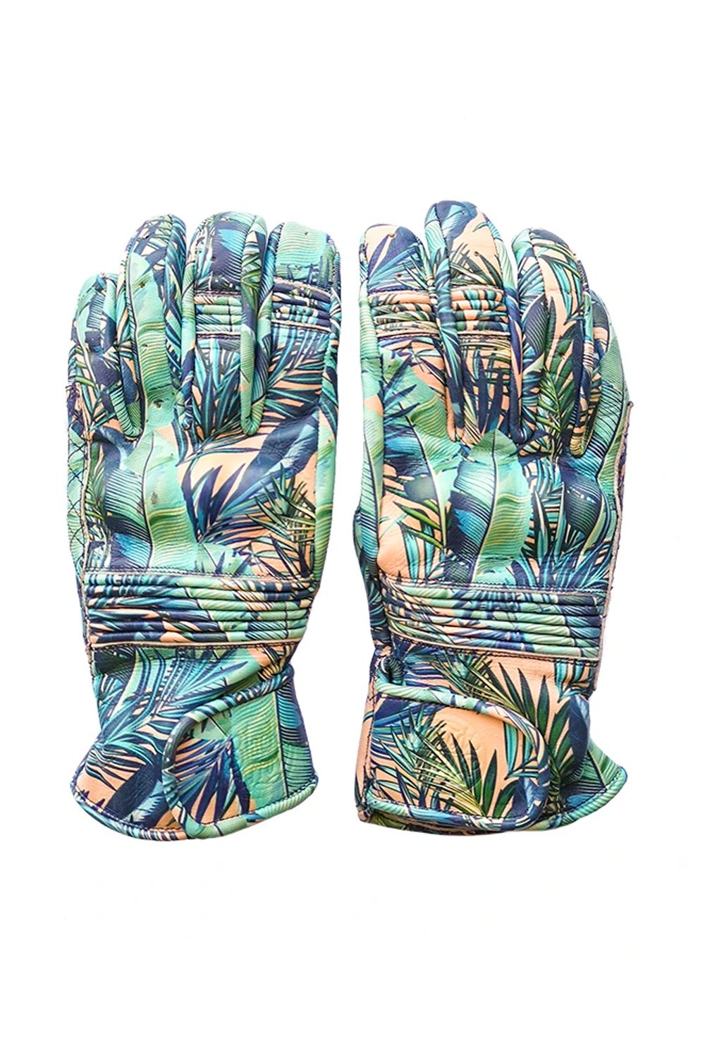QUEEN BEE MOTORCYCLE GLOVES - PALM TREE