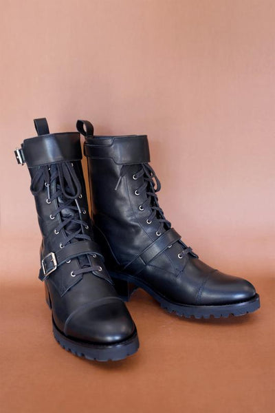 Josie Motorcycle Boots